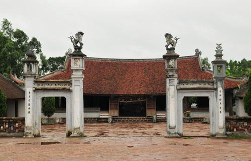 Chiêm ngưỡng vẻ đẹp của Làng cổ Đường Lâm