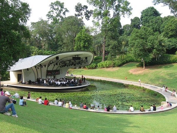 Vườn bách thảo Singapore Botanic Garden