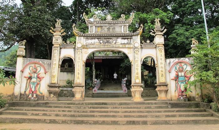 Di tích chùa cô Tiên
