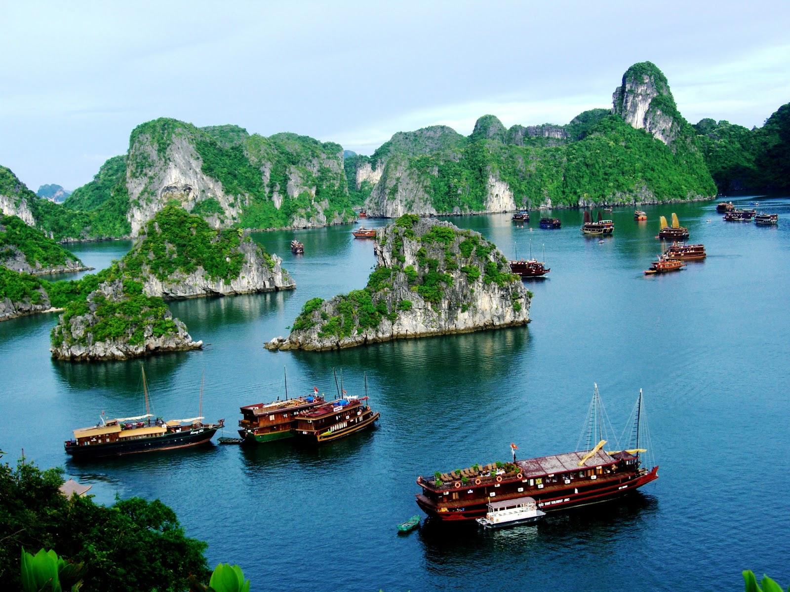 Vịnh biển Hạ Lng tuyệt đẹp