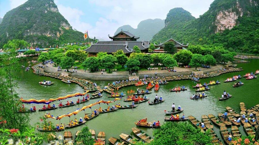 Khu du lịch Tràng An mang vẻ đẹp say đắm lòng người