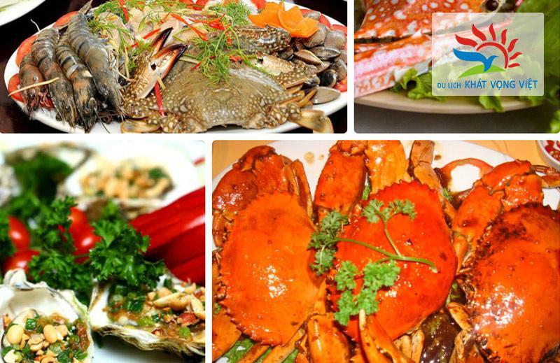 Hạ Long cũng nổi tiếng với nhiều món ăn đẹp