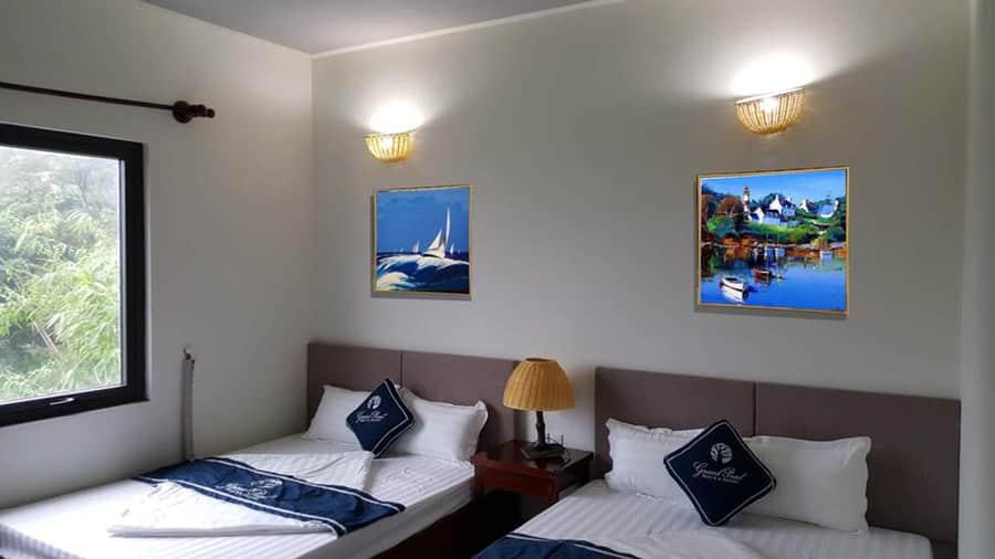 Khách sạn tại đảo Quan Lạn tiện nghi, sang trọng