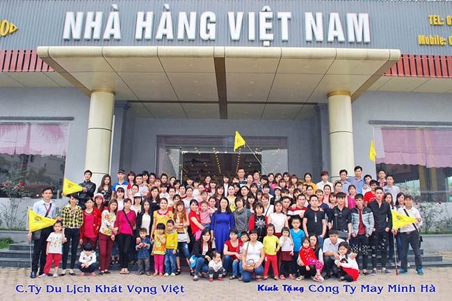 Đoàn Công ty May Minh Hòa du lịch Hạ Long