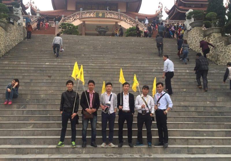 Đội ngũ  hướng dẫn viên du lịch Khát Vọng Việt