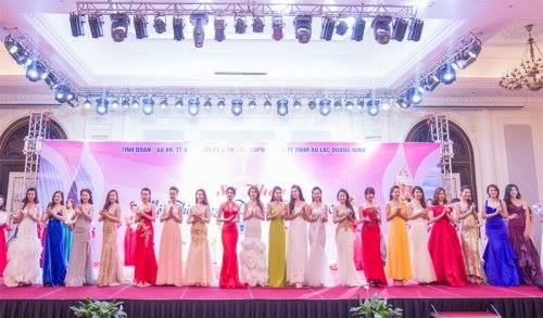 Top 20 thí sinh lọt chung kết Người đẹp Hạ Long 2016