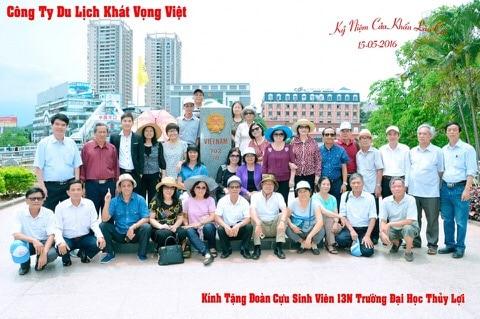 Cựu sinh viên 13N ĐH Thủy Lợi tham quan Hà Nội – Côn Sơn – Hạ Long – Sapa