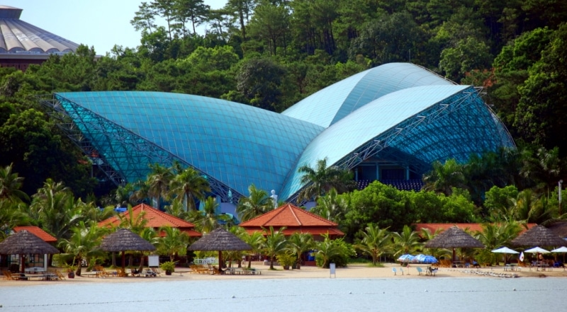 Khu du lịch và giải trí quốc tế Tuần Châu- nơi diễn ra đêm chung kết Người đẹp Hạ Long