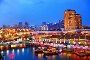 Giải trí đẳng cấp ở Clarke Quay tại Singapore