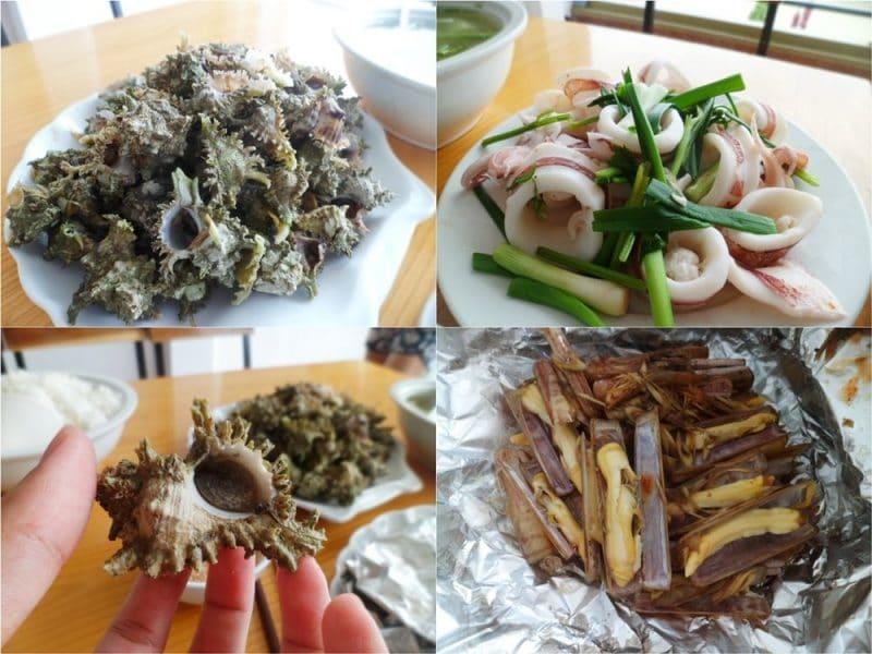 Món ngon hải sản nổi tiếng trên đảo Cô Tô