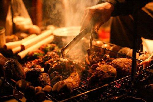 Đồ nướng đa dạng, hấp dẫn không thể bỏ qua khi đến du lịch Sapa
