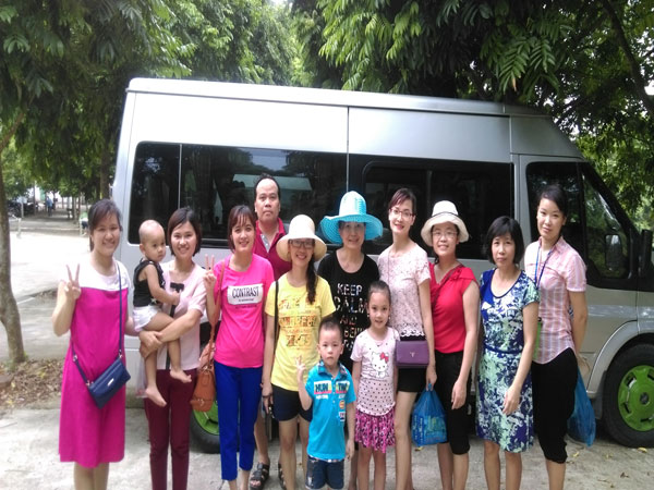 CBNV BV Thanh Nhàn du lịch Khoang Xanh Suối Tiên