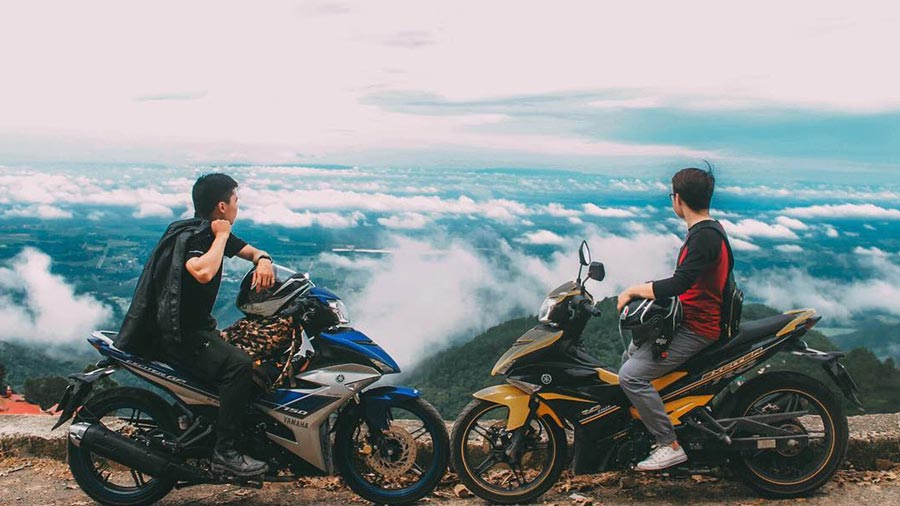 Du lịch Tam Đảo bằng xe máy sẽ là trải nghiệm vô cùng thú vị