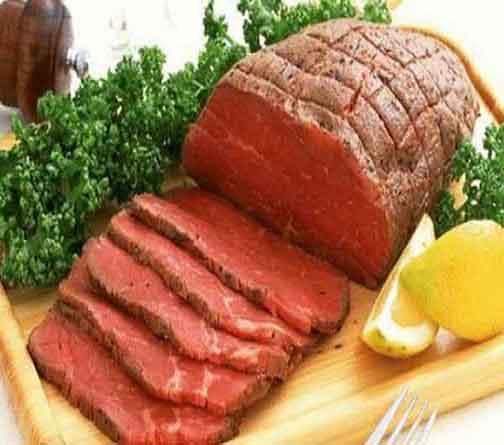 Thịt tái bò kiến đốt