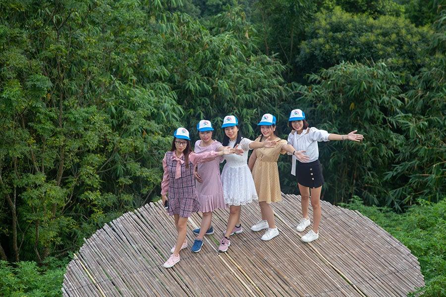 Điểm du lịch Cầu Mây Tam Đảo