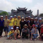 Đoàn khách trung tâm giáo dục thường xuyên huyện Điện Biên