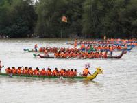 Lễ hội đua thuyển ở Lệ Thủy tổ chức vào 2/9 hằng năm