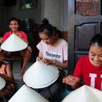 Nét đẹp truyền thống từ làng nón Quý Hậu