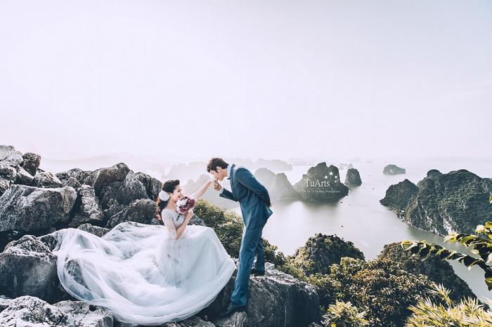 Góc ảnh tuyệt đẹp chụp tại Núi Bài Thơ