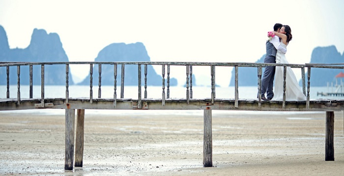 Chiếc cầu gỗ mộc mạc tại Vân Đồn