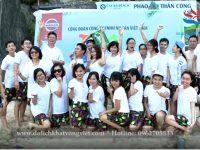 Công ty ô tô Nissan Việt Nam du lịch biển Cát Bà Hải Phòng