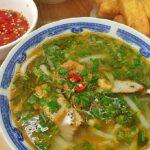 Thưởng thức hương vị tô cháo bánh canh Quảng Bình