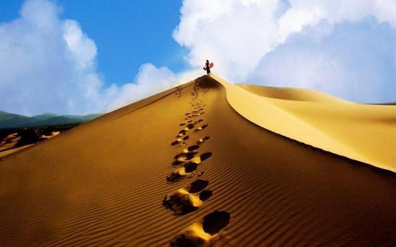 Cồn cát Quang Phú - Thiên đường trên mặt đất