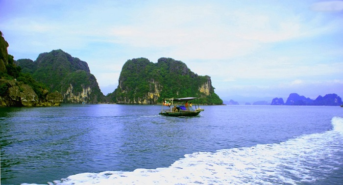 Phong cảnh thiên nhiên tại đảo Cống Tây