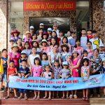 Đoàn cán bộ CNV trường mầm non Bình Minh