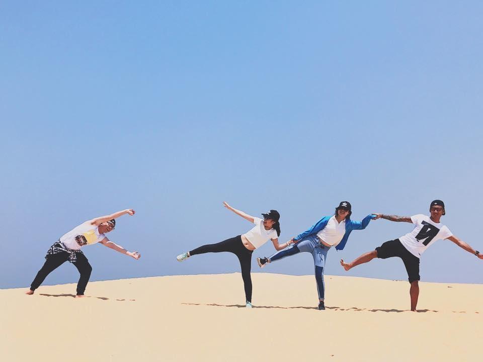 Đồi cát Quang Phú cũng là địa điểm lý tưởng để bạn cho ra những bức hình tuyệt đẹp cùng bạn bè, người thân