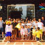 Gia đình anh Kiều Đình Chính đi du lịch Sầm Sơn