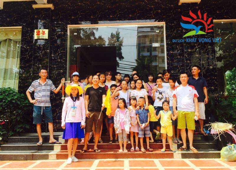 Gia đình anh Kiều Đình Chính du lịch biển Sầm Sơn