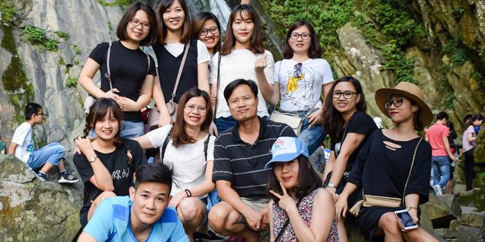 Hình ảnh du khách đi tour Tam Đảo do công ty du lịch Khát Vọng Việt tổ chức