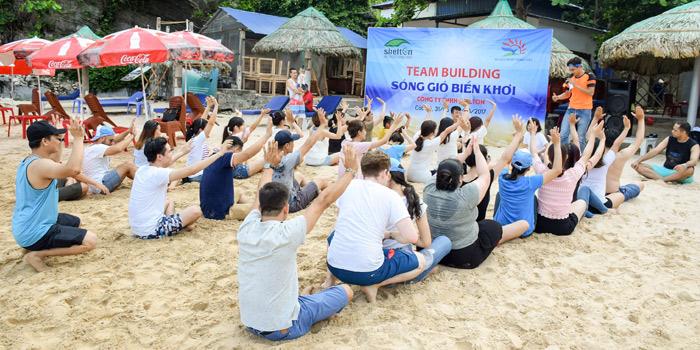 Chương trình teambuilding bãi biển với những trò chơi vui nhộn