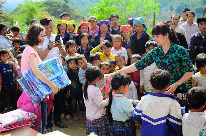 Hoạt động thiện nguyện tại trưởng tiểu học