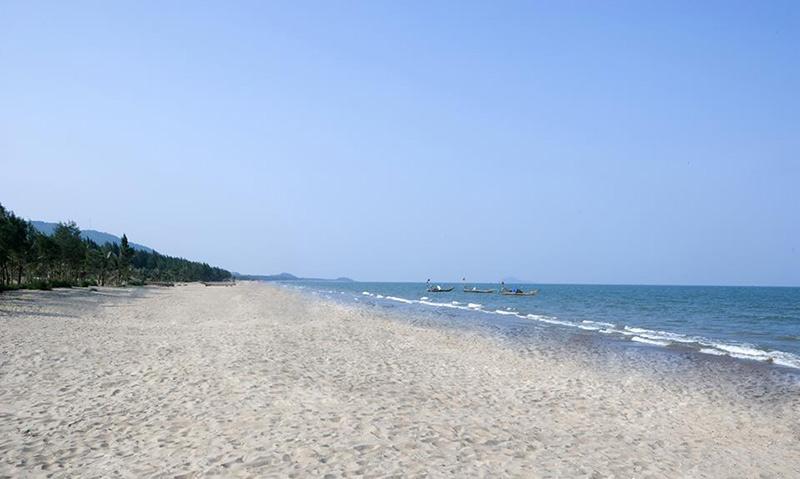Một góc biển Hải Tiến