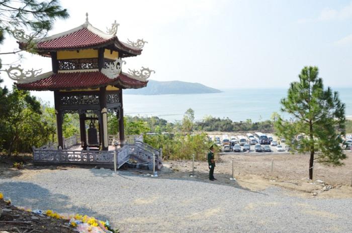 Vũng Chùa - Đảo Yến, nơi yên nghỉ của vị Đại tướng tài ba