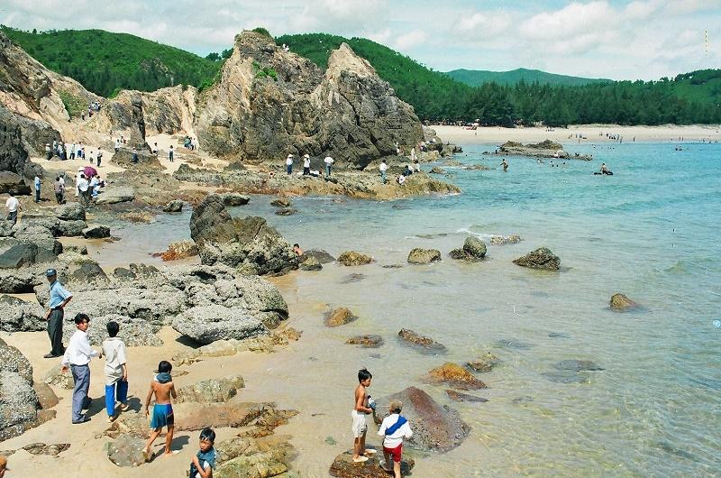 Bãi đá nhảy - Kiệt tác thiên nhiên ban tặng cho Quảng Bình