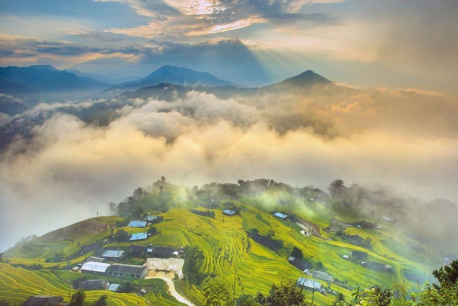 Toàn cảnh Hà Giang thơ mộng nhìn từ trên cao