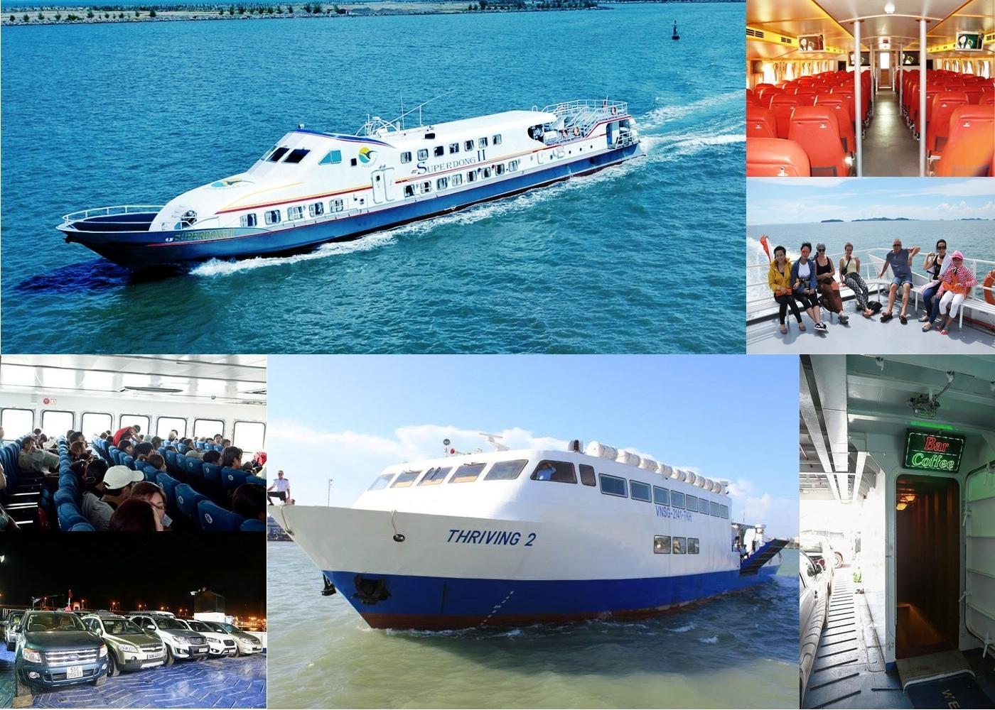 Tàu cao tốc Phú Quốc với thiết bị hiện đại đảm bảo an toàn cho hành khách suốt hành trình
