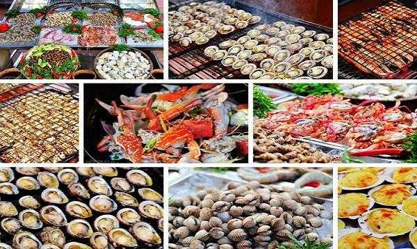Thưởng thức vô vàn món ăn đặc sản biển Hải Tiến ngay tại khách sạn