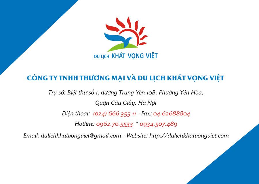 Liên hệ Khát Vọng Việt