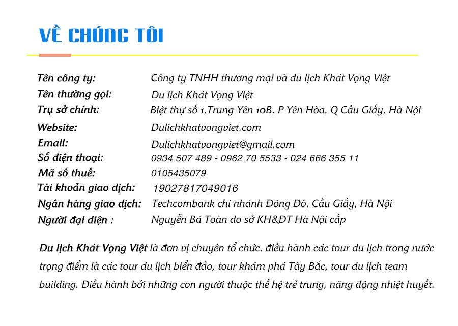 Giới thiệu Khát Vọng Việt