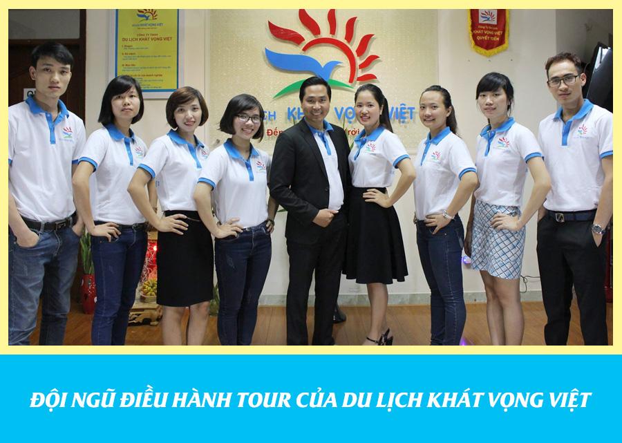 Đội ngũ điều hành tour