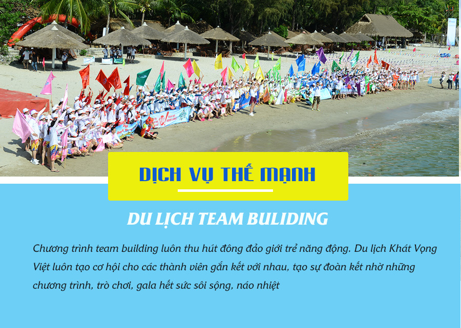 Du lịch Team Building