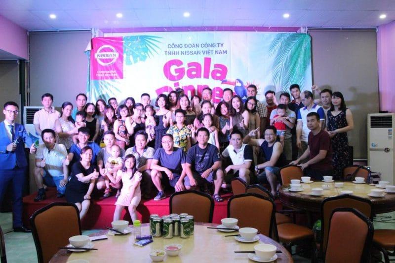 Chương trình Gala tổ chức vào buổi tối ngày đầu tiên