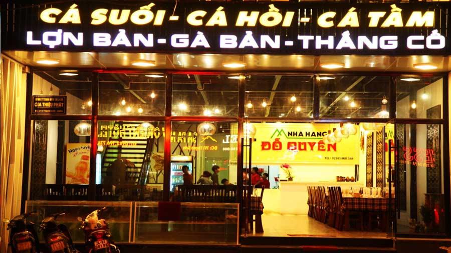 Thưởng thức đặc sản Sapa tại nhà hàng Đỗ Quyên