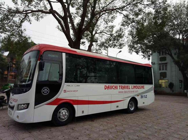 Xe của Daiichi Travel