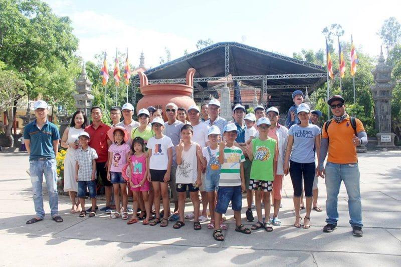 Đoàn Công ty TNHH Thương mại và Dịch Vụ Đại An du lịch Nha Trang