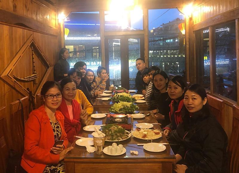Gia đình chị Vân đi du lịch Sapa do du lịch Khát Vọng Việt tổ chức